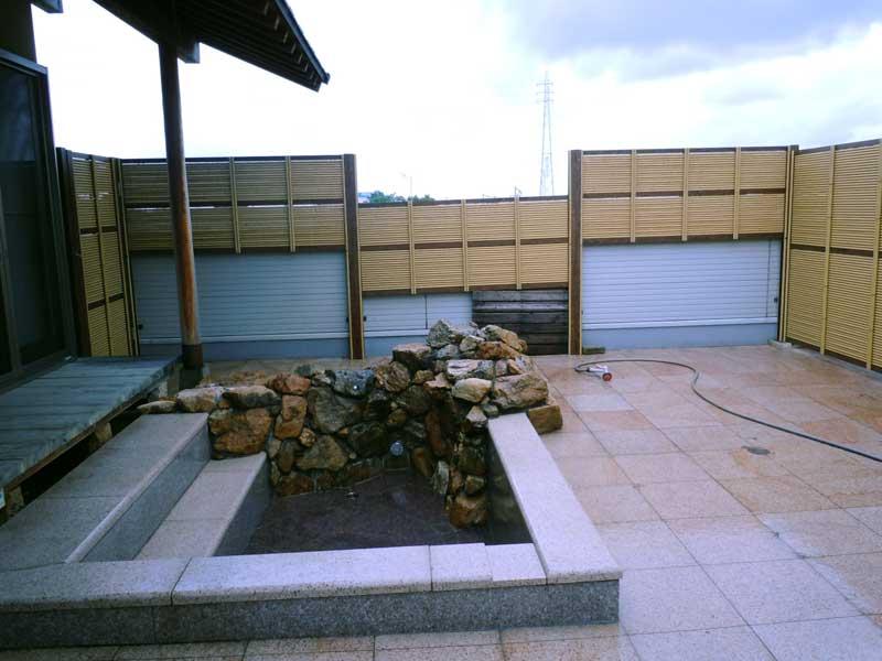 屋上緑化と庭園2